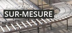 Fabrication sur mesure de convoyeurs, rouleaux, rails à galets - MSET