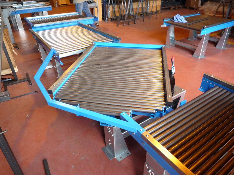 Fabrication sur mesure de convoyeurs mset Fabricant de liner sur mesure
