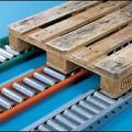 Rails à rouleaux Convoyage Palettes