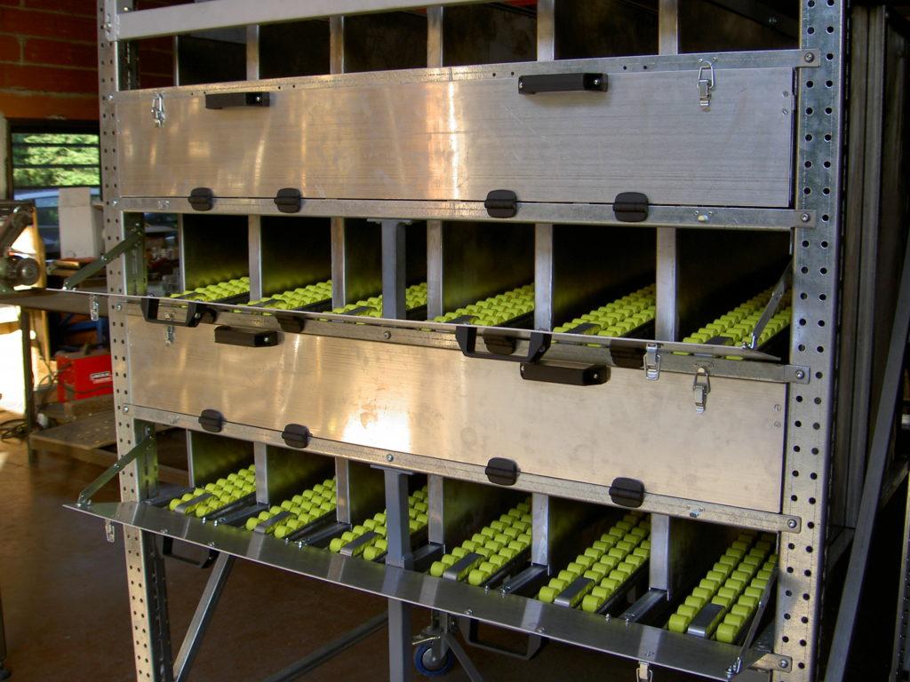 Meuble de stockage dynamique FIFO CDM