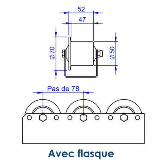 Schéma technique RG50x60