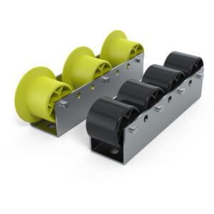 Rail à galets Rg30 Charges lourdes