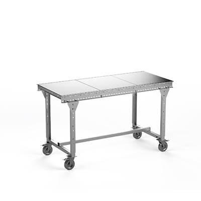 Table à roulettes Mobirac